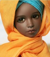 1/4 BJD Doll SD Girl benny Bust: 22cm -Free Face Make UP+Free Eyes-Tan color