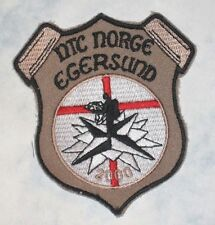 "NTC Norge Egersund Patch - Norway - 3 1/8"" x 3 1/2"""