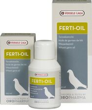 Versele-Laga Ferti-Oil, a 100%. Fertility. For Pigeons and Birds
