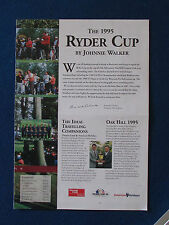 Ryder Cup 1995-Oak Hill, New York-Travel brochure - 8 pages
