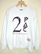 Vintage 90s 2pac Colection Tupac Shakur Memorial Bootleg Rap Sweatshirt MEDIUM