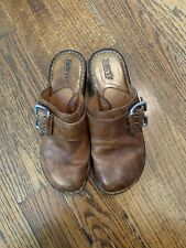 Born Hand Crafted Mule Clog With Side Buckle Size 7-38