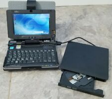 Fujitsu LifeBook U810 with Case, ext DVD Drv ~ UMPC ~ 1GB 40GB-HDD ~ Win7 ~ 5.6