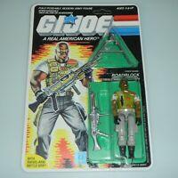 *RECARDED 1986 GI Joe Roadblock v2 Figure Complete Sealed *CUSTOM File Card Back
