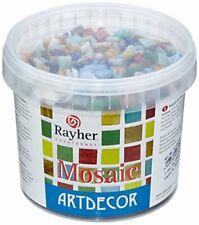Rayher Mosaic Artdwcor Mosaiksteine 1 Eimer 450 Stk gemischt