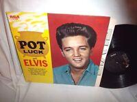 ELVIS PRESLEY-POT LUCK-RCA LSP 2523 NO BARCODE NM/VG+ LP