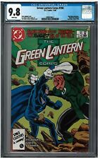 GREEN LANTERN CORPS #206 CGC 9.8 (11/86) DC white pages