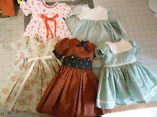 R and B or Toni Vintage Doll Dresses