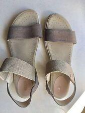 Ecco Women's Sandals Stretch Size 40 Us 9 9.5