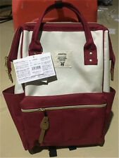 Japan Anello Classic Backpack Rucksack Canvas Quality School Shoulder Bag Campus