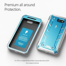 Case For Samsung Galaxy J7 2017 / J7 V Poetic【Revolution】Shock proof Case Blue