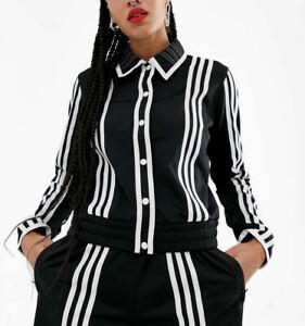 adidas Originals x Ji Won Choi Women's 3-Stripes Track Top Jacket XS S M Black
