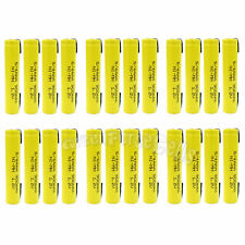 24 pcs 5/4 AAA 900mAh Ni-MH 1.2V Rechargeable Battery Flat Top with Tab US Stock