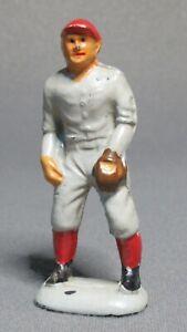 Vintage Original Auburn Rubber Baseball Player Game Figure - A5 Fielder