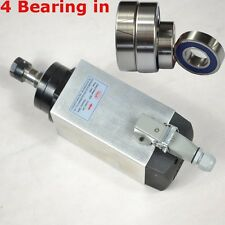 4KW ER20 AIR-COOLED SPINDLE MOTOR CNC FOUR BEARING ENGRAVING MILL GRIND FOR SALE