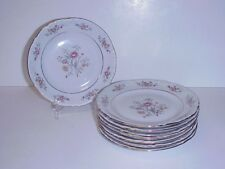 CHODZIEZ POLAND BREAD & BUTTER PLATES SET 8