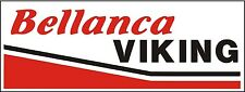 A027 Bellanca Viking Airplane banner hangar garage decor Aircraft signs