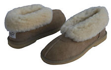 Ladies Premium Australian Sheepskin Ugg  Ankle Slippers Boots Sizes 5-12