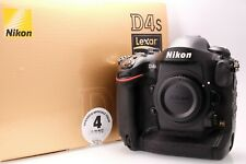 Nikon D4s Body in Mint++ Condition With Packaging Shutter Count 31759