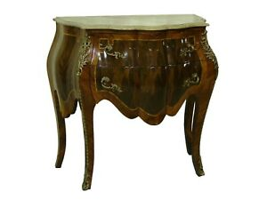 Commode/ Server Table /Night Stand Marble Top