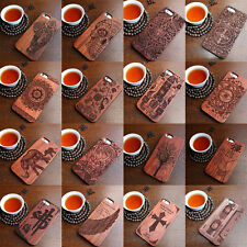 Luxury Natural Wooden Wood Case For iPhone 6 7 Plus 8 Plus 5 5S SE Cover