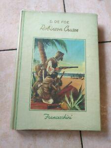 Robinson crusoe anno 1953 edizione Collana Gemme Franceschini