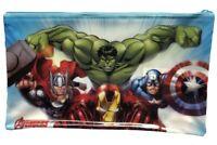 Marvel Vengadores Estuche Con Hulk Y Marvel Héroes Azul
