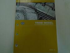 2013 Harley Davidson TRIKE Models Parts Catalog Manual Book 2013 NEW