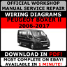 # OFFICIAL WORKSHOP Service Repair MANUAL for PEUGEOT BOXER II 2006-2017 +WIRING