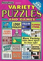 Penny Press Magazine Variety Puzzles and Games Logic Word Seek Frame Works 2011