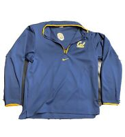 New Nike Dri-Fit Men's XL Cal Berkeley Full Zip Football Team Issued Jacket NWT