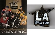 2017 NHL ALL STAR GAME PROGRAM & ASG PIN NATIONAL HOCKEY LEAGUE STADIUM ISSUE