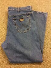 Mens WRANGLER W42 L31 Texas Blue Stonewashed Denim Jeans Superb