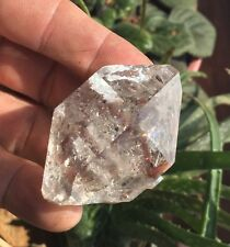 Genuine Herkimer Diamond Natural Water Clear DT Quartz Crystal New York 56mm!