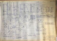 NY METS FLUSHING REPRODUCTION SITE PLAN BLUEPRINT 1964 SHEA STADIUM NY 28x37
