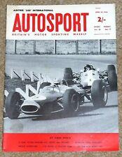 Autosport 24/4/64 - LE MANS TESTING - AINTREE 200 - NEW PLYMOUTH HEMI V8 ENGINE