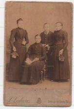 OLD CABINET PHOTO STUDIO GROUP  LEON SAHORE BUENOS AIRES ARGENTINA SOUTH AMERICA