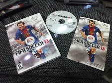 FIFA Soccer 13  (Nintendo Wii, 2012)COMPLETE