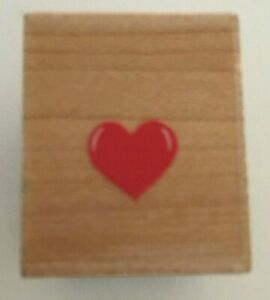 All Night Media Tiny Heart 389A Rubber Stamp Love Valentines Card Making Crafts