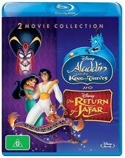 NEW Aladdin: King of Thieves / Return of Jafar [Blu-ray]