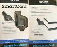 Escort Passport Coiled Smart Cord Blue LED w/ Mute Button Coiled Cord Brand NEW