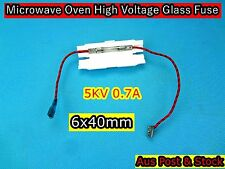 Microwave Oven Spare Parts High Voltage Glass Fuse w Holder 5KV 0.7A 6x40mm(B84)