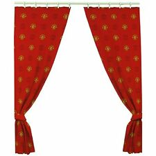 MANCHESTER UNITED Football Curtains Red Man Utd Kids Childrens - 66 x 54 Inch