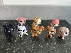 Littlest Pet Shop LPS Bundle Of Dog Figures