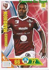 170 MANDJECK CAMEROON FC.METZ SPARTA PRAHA CARD ADRENALYN LIGUE 1 2018 PANINI