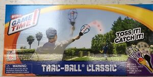 Wham-O Game Time! Trac Ball Racket Toy Game Classic Toys Hobbies - New/Sealed