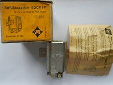 SWF Blinkgeber BGC/175 24 Volt 2+1x20 Watt mit original Anleitung Oldtimer