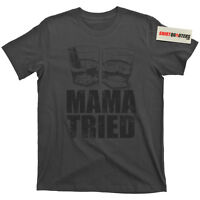 Merle Haggard Mama Tried Pancho and & Lefty Willie Nelson The Hagg tee T Shirt
