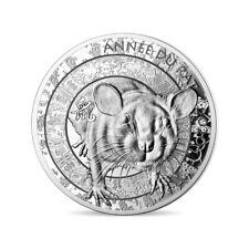 ** pièce de 10 euro France 2020 argent BE - Année du Rat **