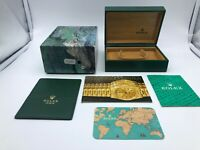 VINTAGE GENUINE ROLEX Explorer 114270 watch box case 68.00.71 Booklet 0301004#r